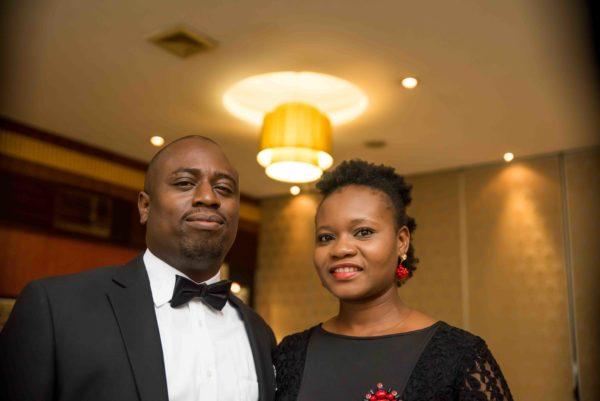Dr. Oluwaseun Akinbobola (CEO, Beaconhill Smile Clinic) and his lovely wife, Ibitayo Akinbobola